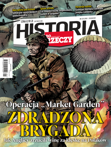 """Okładka miesięcznika """"Historia Do Rzeczy"""" nr 01/2019 (71)"""