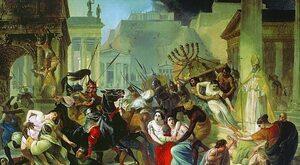 Wandalowie dwa razy zdobyli Rzym i założyli państwa w Hiszpanii oraz w...