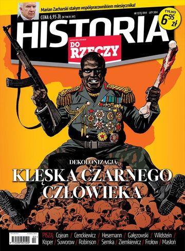 Okładka miesięcznika Historia Do Rzeczy: 2/2014
